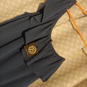 One Shoulder Never Worn Bobeau Teal Dress
